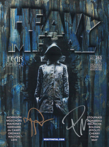 Issue #283 - Cover B - Rob Prior (Signed by Rob Prior / Left and Right Hand)