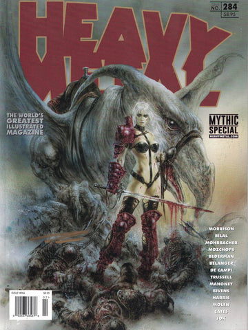 Issue #284 - Luis Royo Cover (Signed by Andrew Brandou)