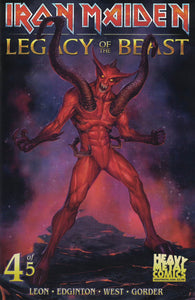 Iron Maiden Legacy of the Beast - Issue #4 - Cover B