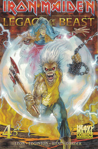 Iron Maiden Legacy of the Beast - Issue #4 - Cover A