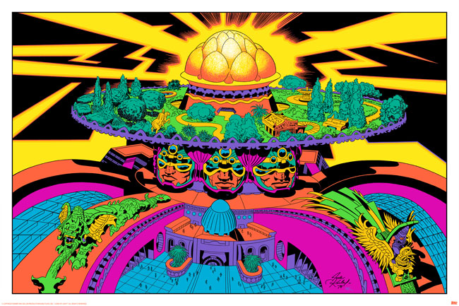 Jack Kirby / Barry Geller - Lord of Light Print - Chambers of Brahma
