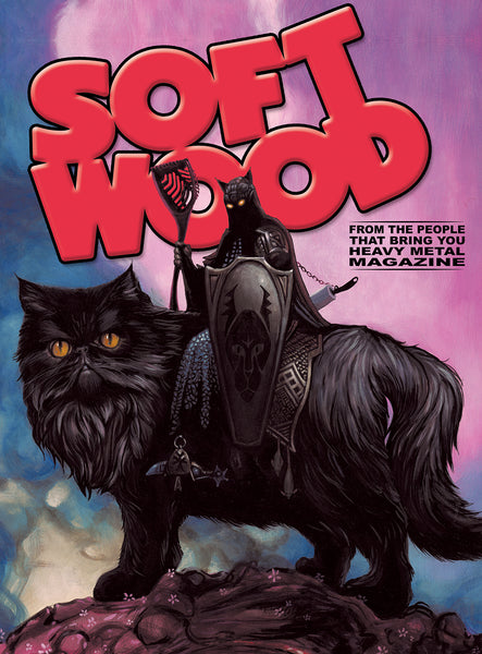SIGNED Soft Wood #1 - Cover B - Casey Weldon