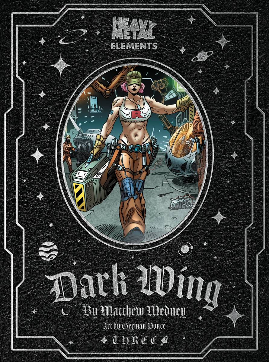 Dark Wing Issue #3: Heavy Metal Elements