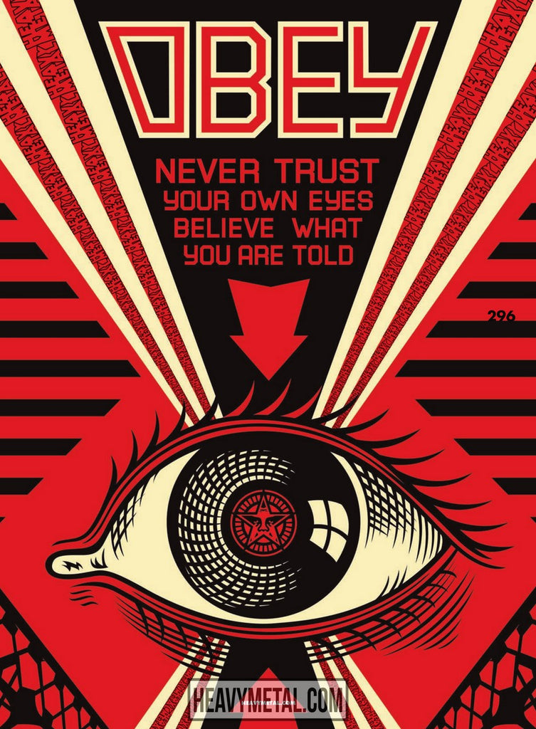 Issue #296 Cover C - Shepard Fairey