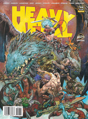 Issue #300 Cover C by Glenn Fabry