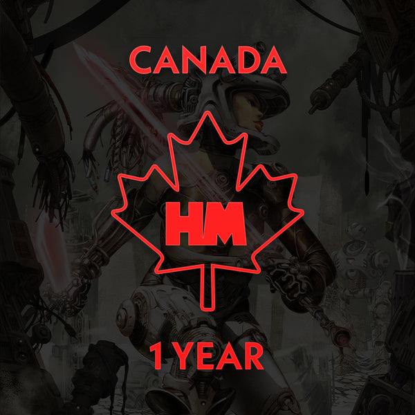 1 Year Subscription (Canada)