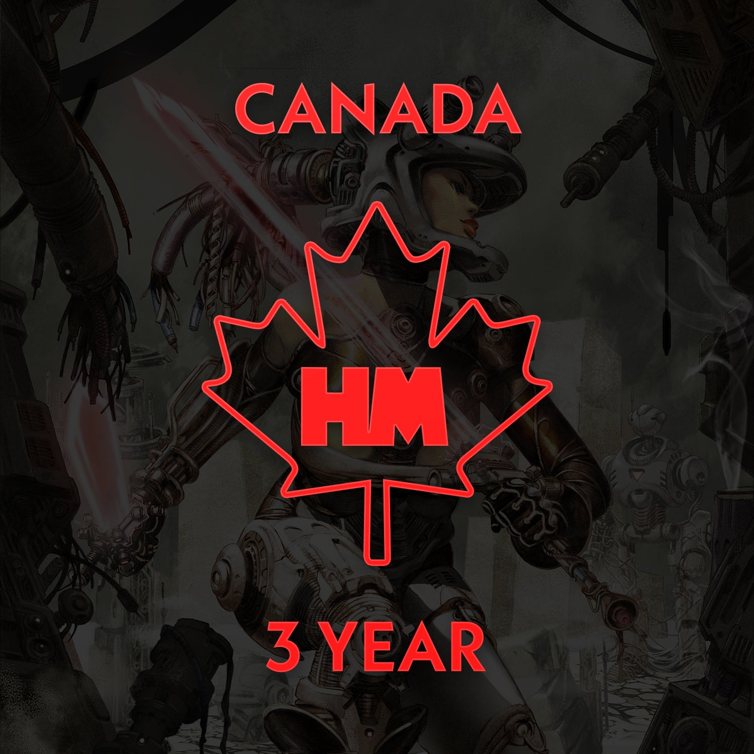 3 Year Subscription (Canada)