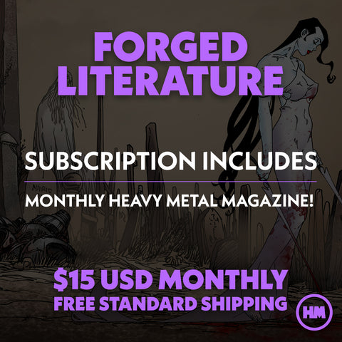 MONTHLY SUBSCRIPTION: FORGED LITERATURE