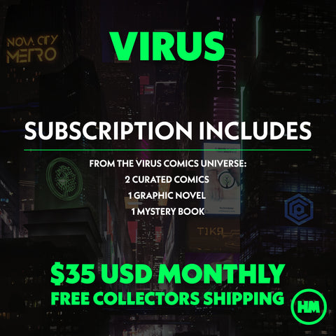 MONTHLY SUBSCRIPTION: VIRUS