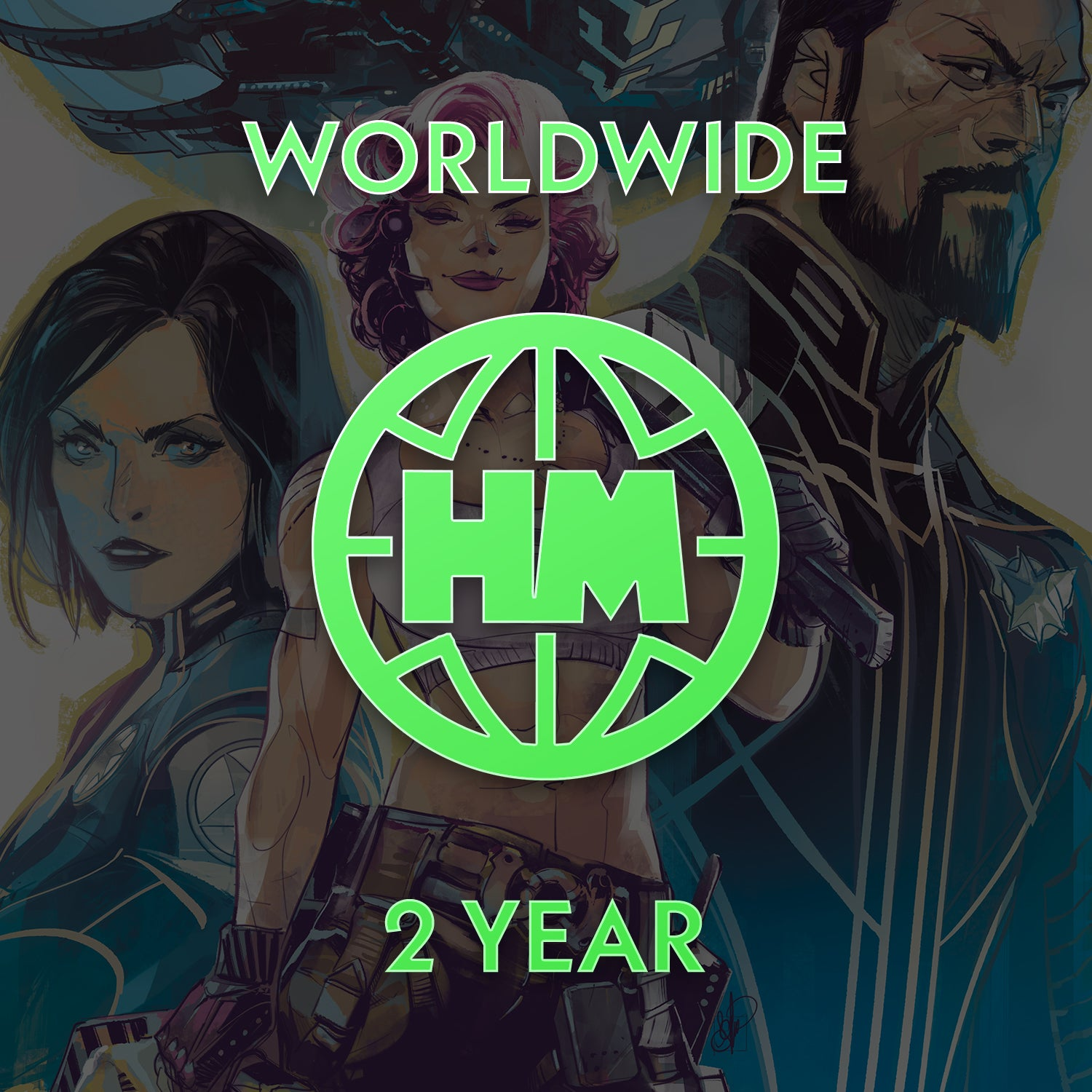 2 Year Subscription (Outside US & Canada)