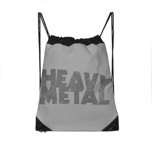 Heavy Metal Drawstring Bag