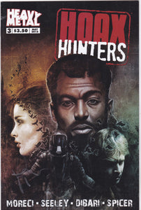 Hoax Hunters #3 (Signed by Rob Prior)