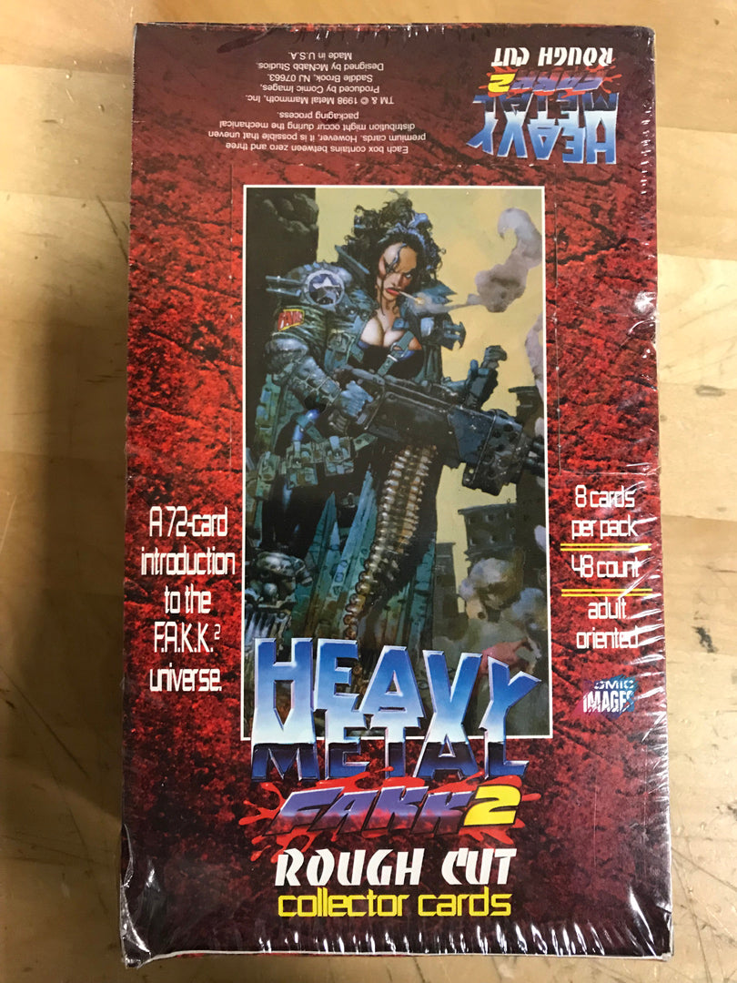 FAKK 2 Rough Cut Collector Cards - Full Unopened Box