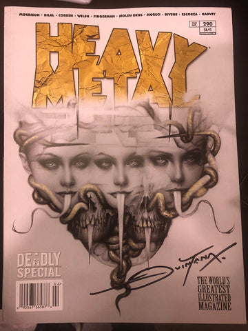 SIGNED Issue #290 Cover A - Dan Quintana (Black Ink)