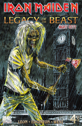 Iron Maiden Legacy of the Beast Vol2 - Night City - Issue #4 - Cover C - Kelly Williams
