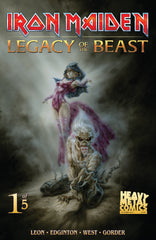 Iron Maiden Legacy of the Beast - Issue #1 - Cover B