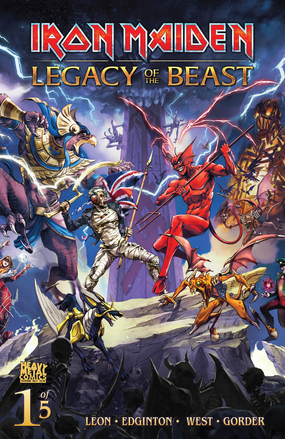 Iron Maiden Legacy of the Beast - Issue #1 - Cover C