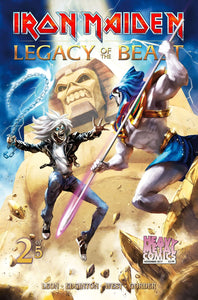 Iron Maiden Legacy of the Beast - Issue #2 - Cover A