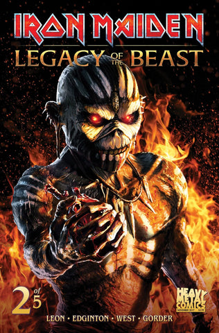 Iron Maiden Legacy of the Beast - Issue #2 - Cover C