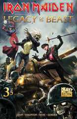 Iron Maiden Legacy of the Beast - Issue #3 - Cover A