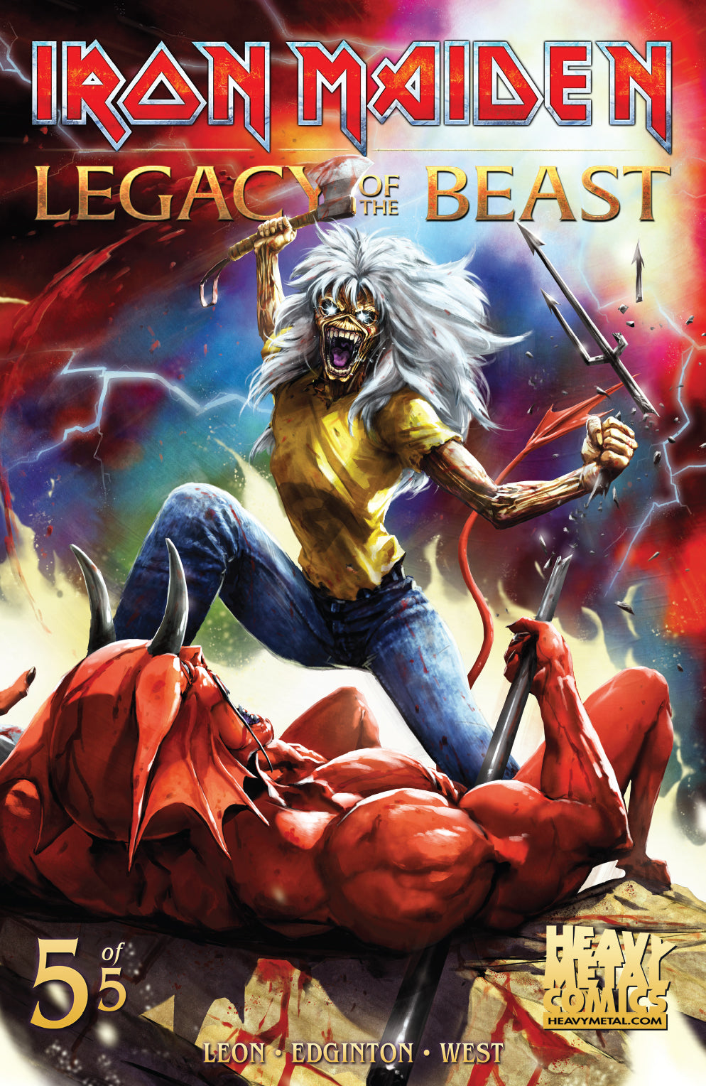 Iron Maiden Legacy of the Beast - Issue #5 - Cover A