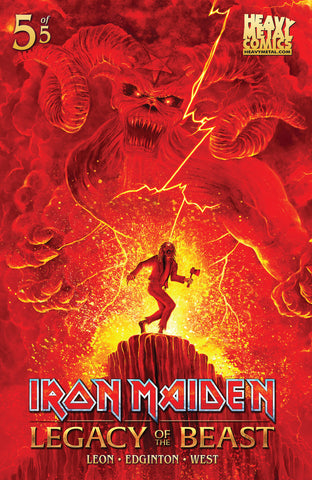 Iron Maiden Legacy of the Beast - Issue #5 - Cover C