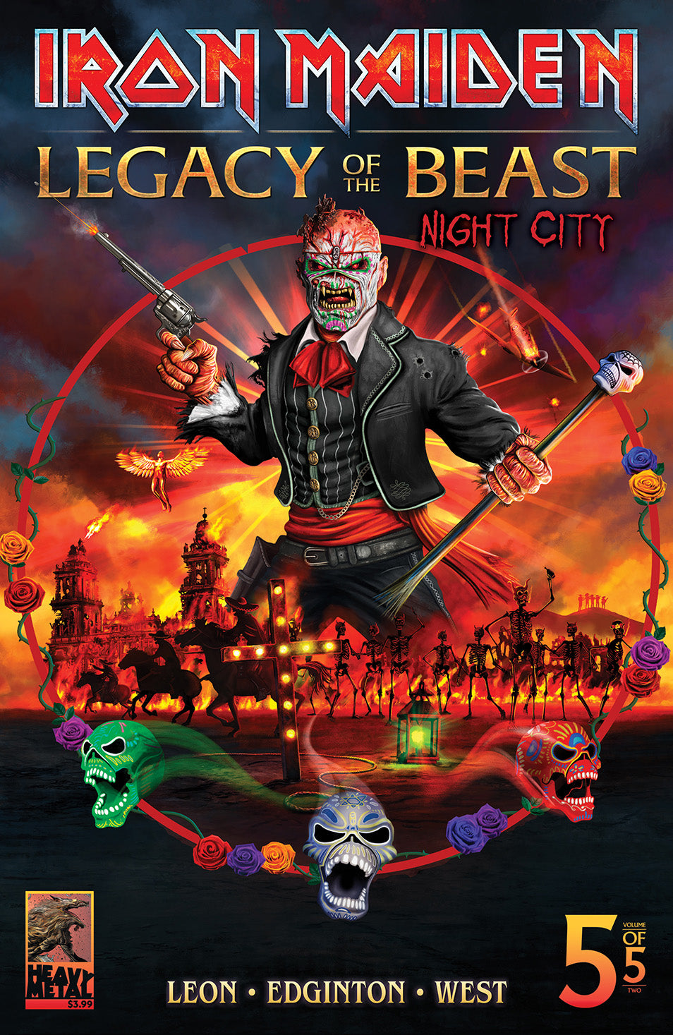 Iron Maiden Legacy of the Beast Vol. 2 - Issue #5 Cover C