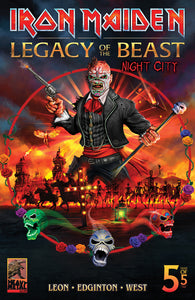 Iron Maiden Legacy of the Beast v2: Night City #5 Cvr C