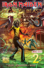 Iron Maiden Legacy of the Beast Vol2 - Night City - Issue #2 - Cover A