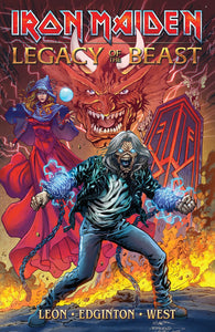 Iron Maiden Legacy of the Beast - Trade Paperback - PRESALE
