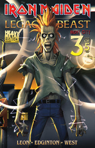 Iron Maiden Legacy of the Beast Vol2 - Night City - Issue #3 - Cover A - Navigator Games