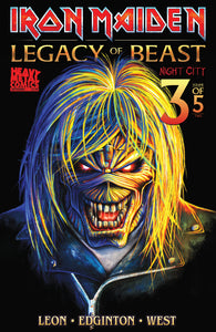 Iron Maiden Legacy of the Beast Vol2 - Night City - Issue #3 - Cover B - Akirant