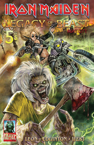 Iron Maiden Legacy of the Beast Vol. 2 - Issue #5 Cover A