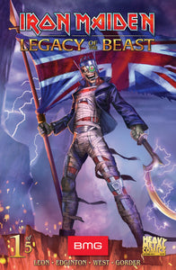 Iron Maiden: Legacy of the Beast SDCC 2018 Signed Special Edition #1