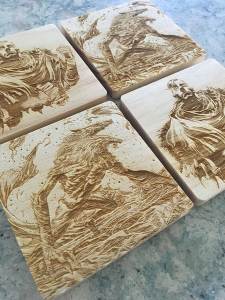 SUNEATER COASTER PACK OF 4