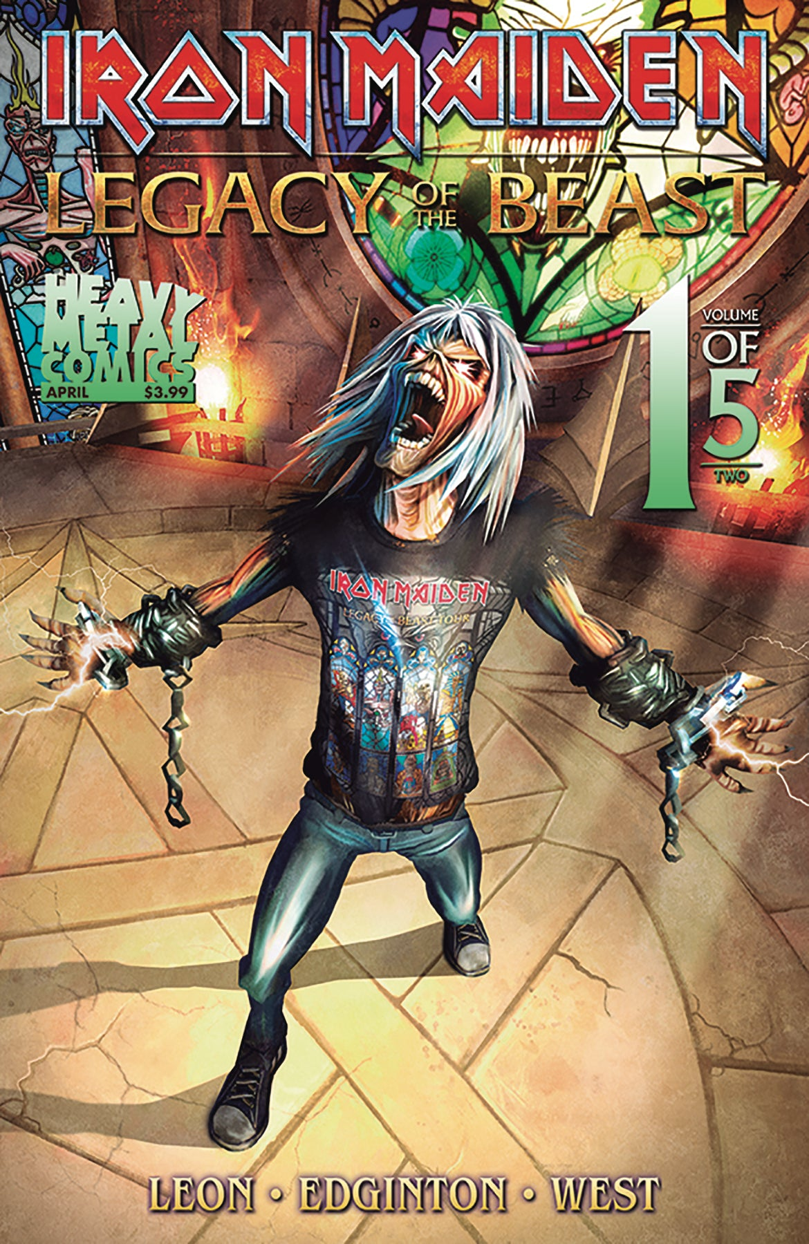 Iron Maiden Legacy of the Beast Vol2 - Night City - Issue #1 - Cover A