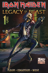 Iron Maiden Legacy of the Beast Vol2 - Night City - Issue #1 - Cover B