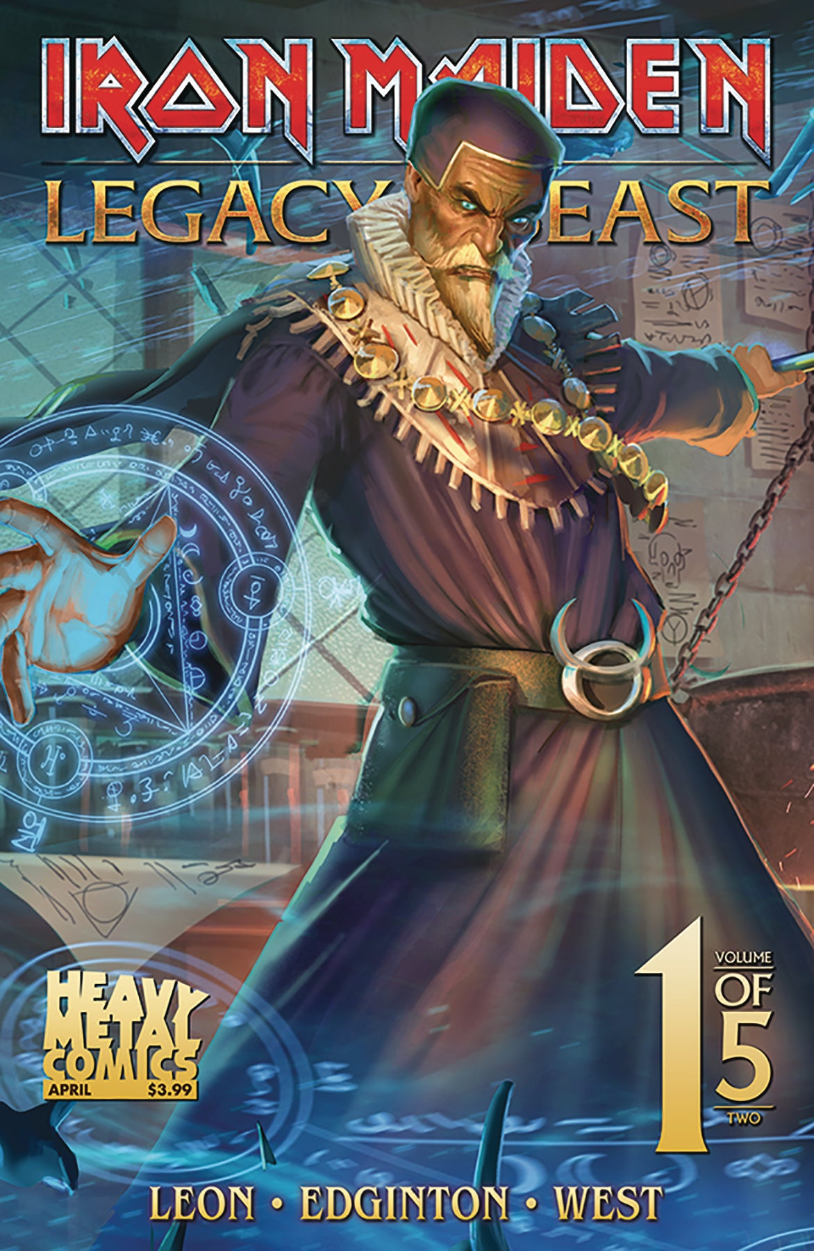 Iron Maiden Legacy of the Beast Vol2 - Night City - Issue #1 - Cover C