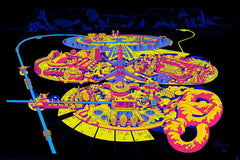 Jack Kirby / Barry Geller - Lord of Light Blacklight Print - Science Fiction Land