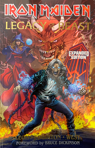 Iron Maiden Legacy of the Beast - EXPANDED EDITION - Trade Paperback