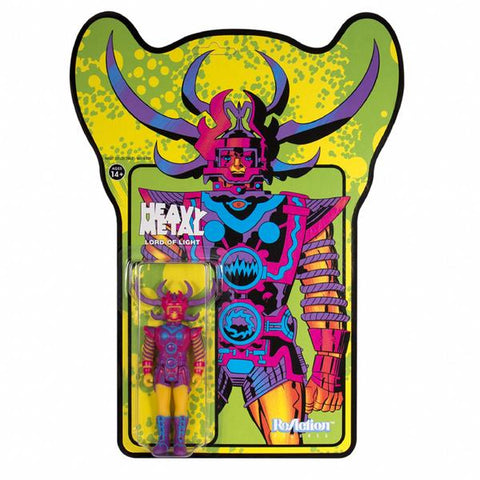 Jack Kirby / Barry Geller - Lord of Light Blacklight - Sam, The Lord of Light Action Figure (Green)