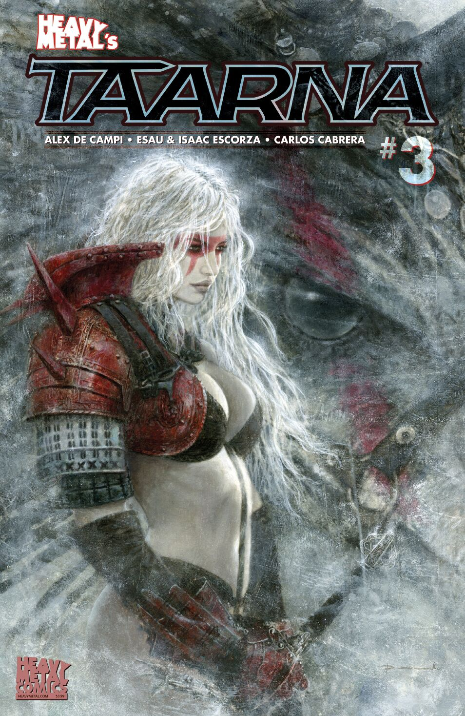 Taarna - Issue #3 - Romulo Royo - Cover B