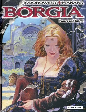 <!--02-->Borgia #2 : Power & Incest by Manara & Jodorowsky