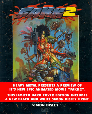 Bisley: FAKK 2 Art <b>Deluxe Edition</b> (Artbook)