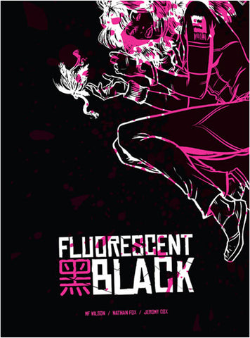Fluorescent Black Soft Cover - Signed
