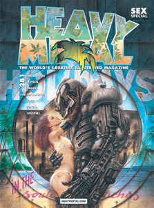 Issue #281 - Luis Royo Cover