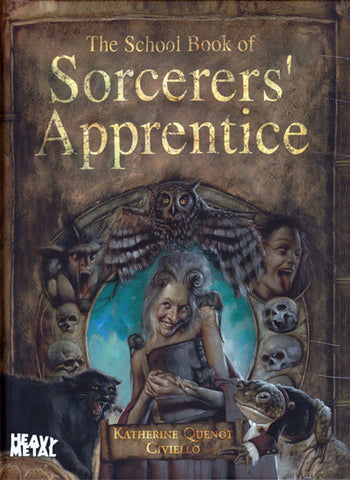 * School Book of Sorcerers' Apprentice (Gothic Collectio