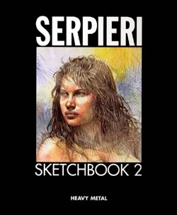 Serpieri Sketchbook #2