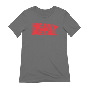 Heavy Metal Red Logo Women's T-Shirt Extra Soft