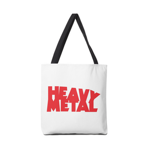 Heavy Metal Red Logo Bag